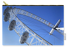 The London Eye, Close-up Carry-all Pouch by Simon Kayne