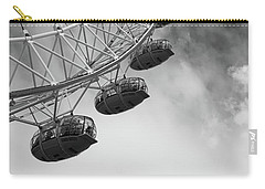 The London Eye, London, England Carry-all Pouch