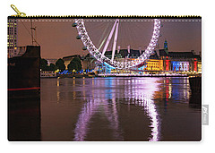 The London Eye Carry-all Pouch by Nichola Denny