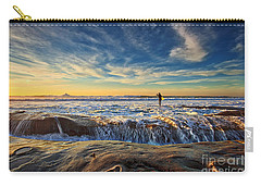 The Lone Surfer Carry-all Pouch