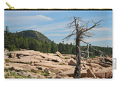 Carry-all Pouch featuring the photograph The Lone Tree by Living Color Photography Lorraine Lynch