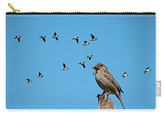The Lonely Sparrow Carry-all Pouch