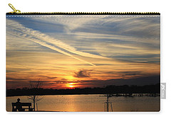 The Lonely Sunset Carry-all Pouch
