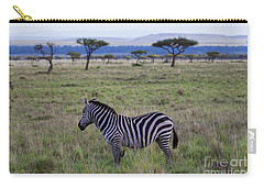 The Lonely Zebra Carry-all Pouch