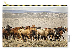 The Long Walk Carry-all Pouch by Joan Davis