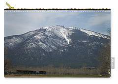 Carry-all Pouch featuring the photograph The Longshed by Jewel Hengen