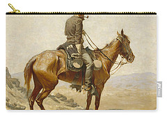 The Lookout Carry-all Pouch by Frederic Remington