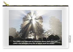 The Lord Is My Light Carry-all Pouch