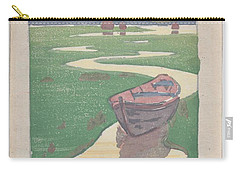 Carry-all Pouch featuring the painting The Lost Boat , Arthur Wesley Dow by Artistic Panda
