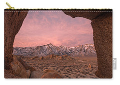 Carry-all Pouch featuring the photograph The Lost World by Dustin LeFevre
