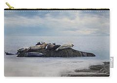 Carry-all Pouch featuring the photograph The Lounge In by Robin-lee Vieira