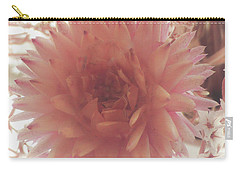 Carry-all Pouch featuring the photograph The Love Of Flowers by Steve Taylor
