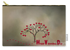 Carry-all Pouch featuring the photograph The Love Tree by Darren Fisher