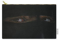 The Lovely Bride Hyphemas Portrait Carry-all Pouch by Eric Dee