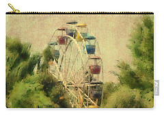 The Lover's Ride Carry-all Pouch by Trish Tritz