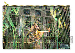 Carry-all Pouch featuring the photograph The Lure Of The Wild by Alex Lapidus