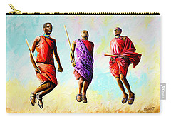 The Maasai Jump Carry-all Pouch