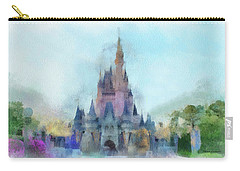The Magic Kingdom Castle Wdw 05 Photo Art Carry-all Pouch