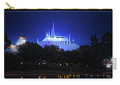 Carry-all Pouch featuring the photograph The Magic Kingdom Entrance by Mark Andrew Thomas