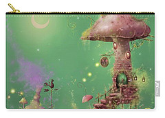 The Mushroom Gatherer Carry-all Pouch by Joe Gilronan