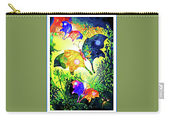 The Magic Of Butterflies Carry-all Pouch by Hartmut Jager