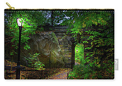The Magic Of Central Park Carry-all Pouch by Mark Andrew Thomas