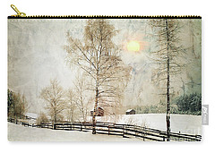 The Magic Of Winter Carry-all Pouch