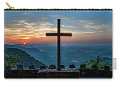 The Magnificent Cross Pretty Place Chapel Greenville Sc Great Smoky Mountains Art Carry-all Pouch