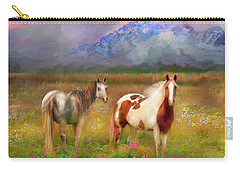 The Majestic Pasture Carry-all Pouch by Kari Nanstad