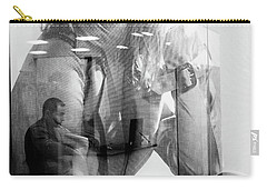 Carry-all Pouch featuring the photograph The Man Inside Me by John Williams