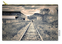 The Man On The Tracks Carry-all Pouch