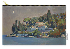 Carry-all Pouch featuring the painting The Mansion House Paxos by Nop Briex