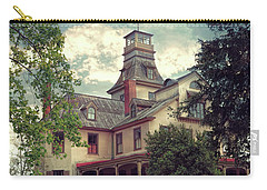 Carry-all Pouch featuring the photograph The Mansion by John Rivera