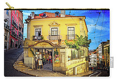 The Many Colors Of Lisbon Old Town  Carry-all Pouch