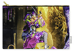 The Mardi Gras Jester Carry-all Pouch