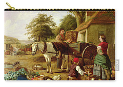 The Market Cart Carry-all Pouch by Henry Charles Bryant