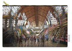 Carry-all Pouch featuring the photograph The Market Hall by Alex Lapidus