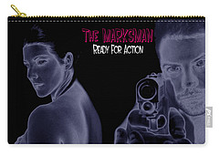 The Marksman - Ready For Action Carry-all Pouch