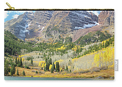 The Maroon Bells 2 Carry-all Pouch by Eric Glaser