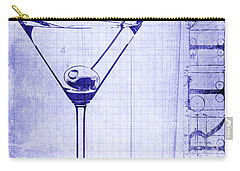 The Martini Blueprint Carry-all Pouch by Jon Neidert