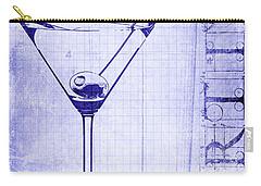 The Martini Blueprint Carry-all Pouch by Jon Neidert