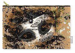Carry-all Pouch featuring the photograph The Mask Of Fiction by LemonArt Photography