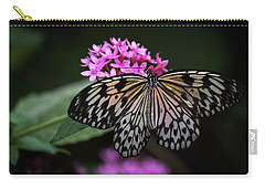 Carry-all Pouch featuring the photograph The Master Calls A Butterfly by Cindy Lark Hartman