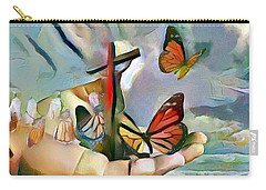 The Master's Hands - Transformer Carry-all Pouch by Wayne Pascall