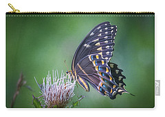 Carry-all Pouch featuring the photograph The Mattamuskeet Butterfly by Cindy Lark Hartman
