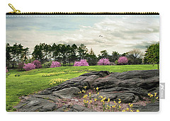 Carry-all Pouch featuring the photograph The Meadow Beyond by Jessica Jenney