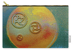 Carry-all Pouch featuring the painting The Mechanical Universe by Robert Margetts
