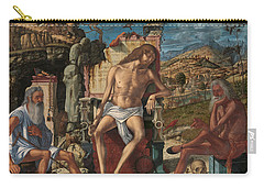 The Meditation On The Passion Carry-all Pouch by Vittore Carpaccio