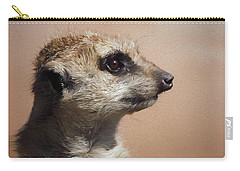 The Meerkat Da Carry-all Pouch by Ernie Echols