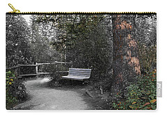 Carry-all Pouch featuring the digital art The Meeting Place by Stuart Turnbull